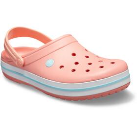 Crocs Crocband Sandaler pink/turkis
